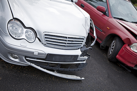car damage from accident